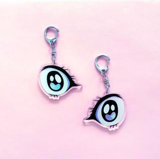 anime eye charms