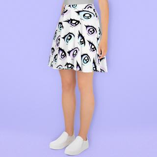 anime eye skirt