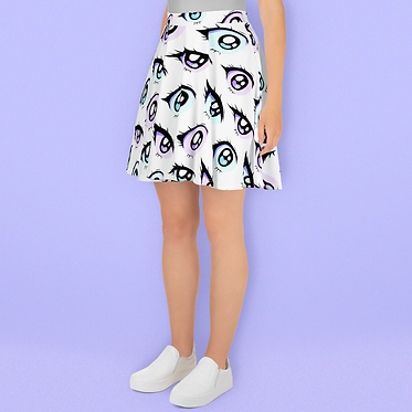Anime Eyes Skirt