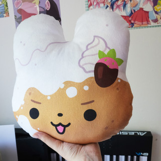 funnel cake bunny