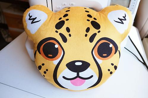 Cheetah Cub Plush Pillow