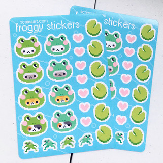 froggy stickers
