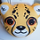 Thumbnail: Cheetah Cub Plush Pillow