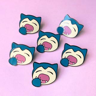 snorlax pins