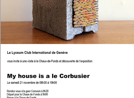 My house is a Le Corbusier