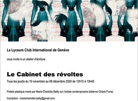 Le cabinet des révoltes