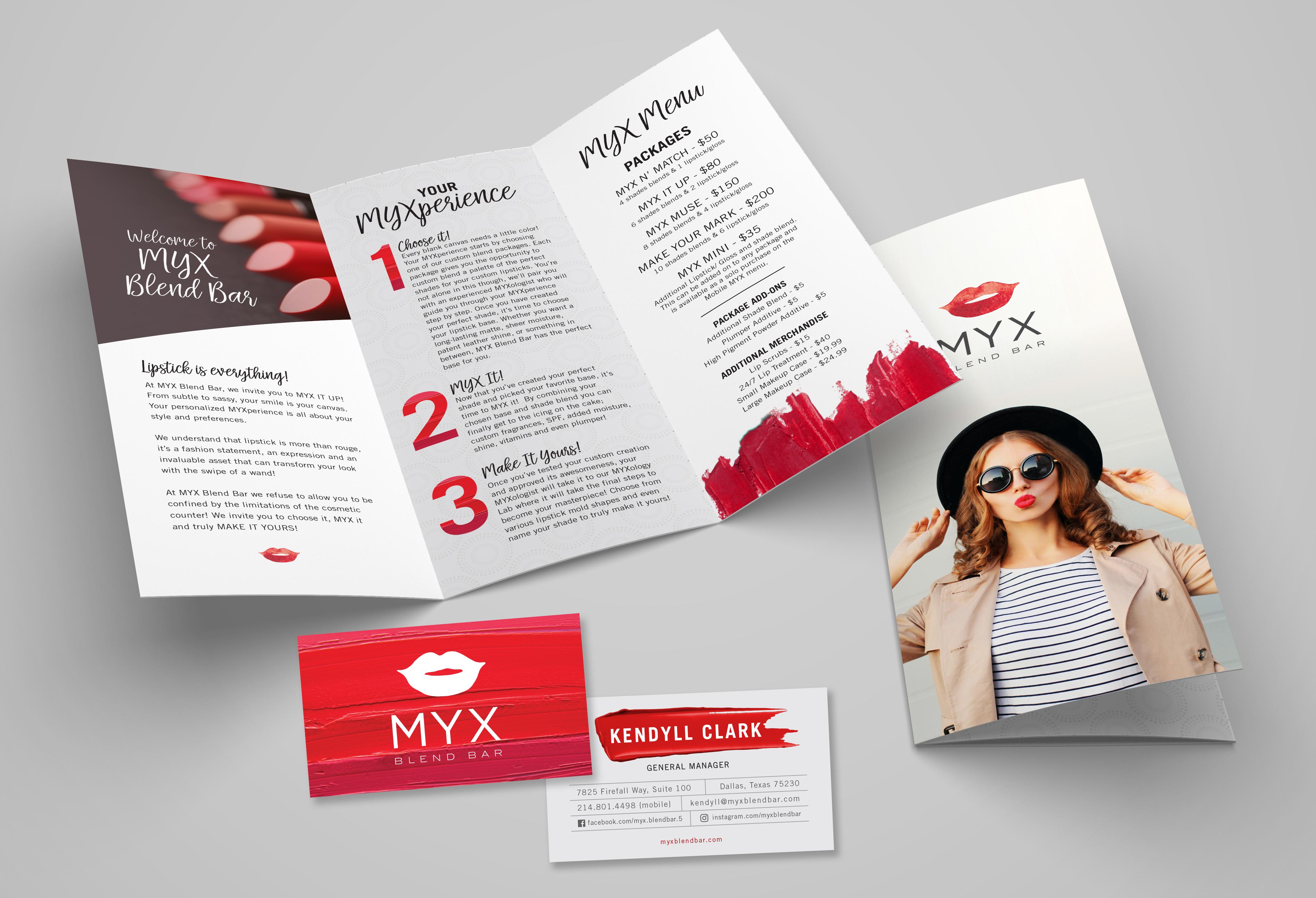 MYX Blend Bar Print