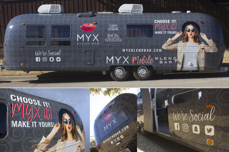 MYX Mobile Blend Bar Wrap