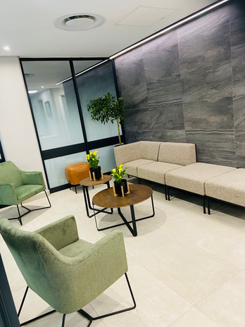 Consulting room Reception