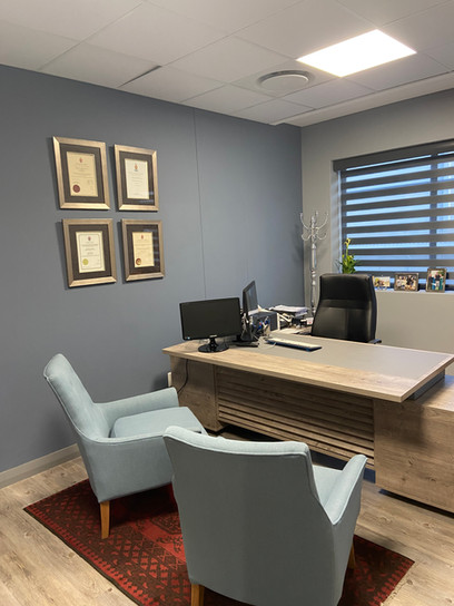 Dr Swart Consulting Room