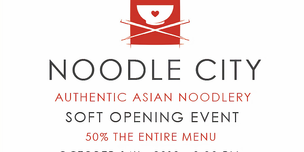 Soft Opening - 2nd Seating