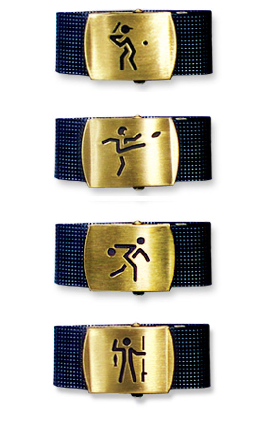 Avon Products We were commissioned by Avon products to design a sports oriented belt buckle as part of Avon father's day gift collection. Subsequently, based on the success of the initial baseball icon, we were asked to extend the series to include football, fishing and bowling.