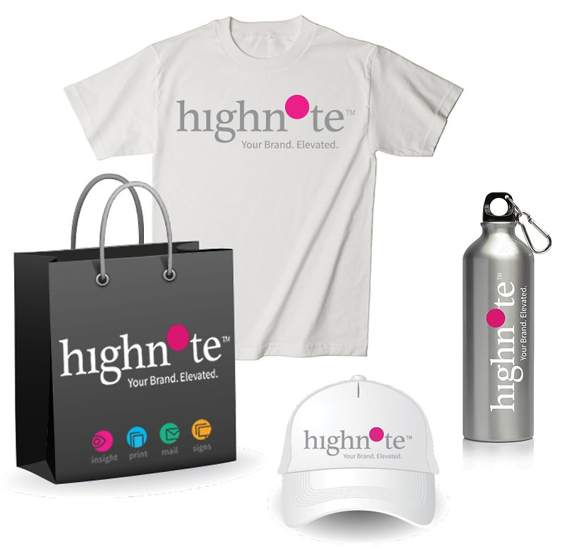 Highnote event giveaways