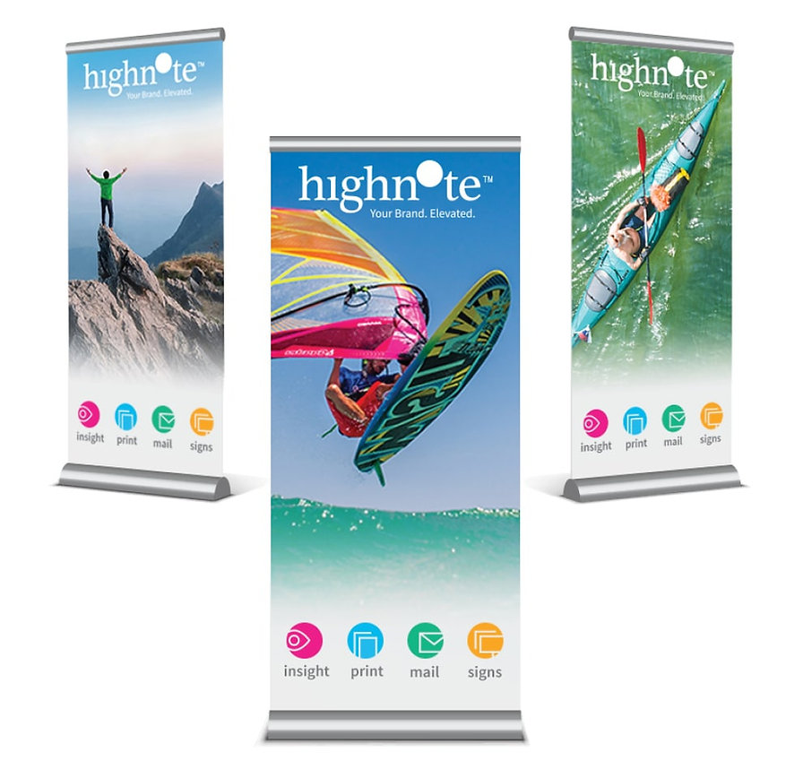 Highnote banners