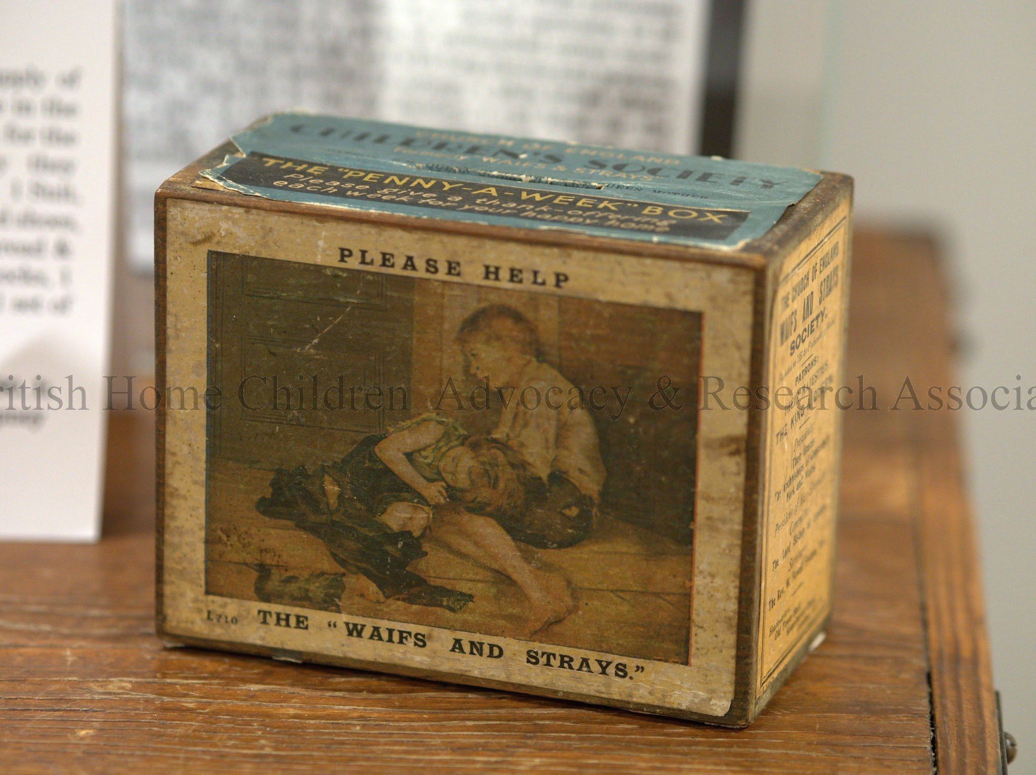 c1920 Waif and Strays Penny Box