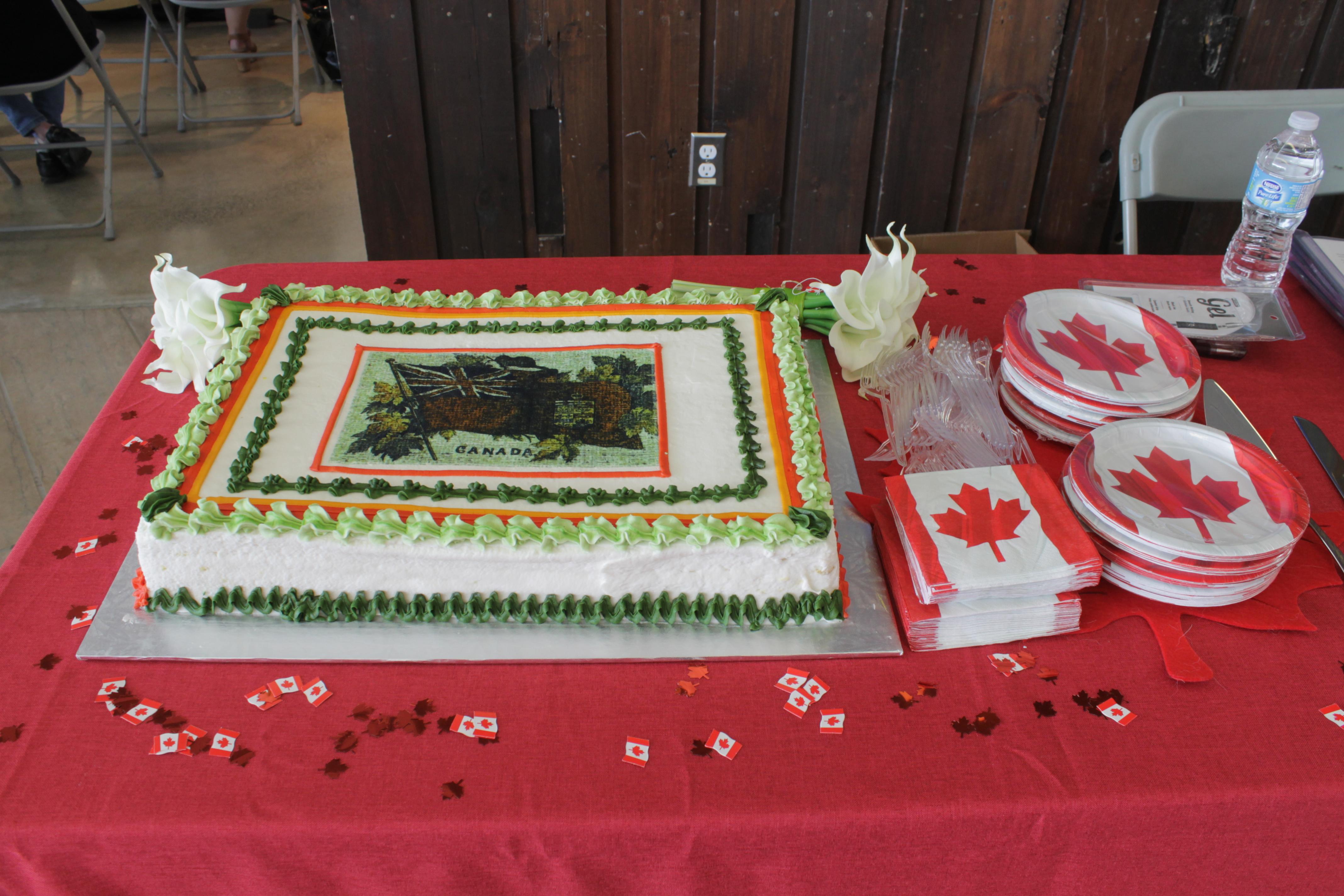 Canada 150 Cake 2017