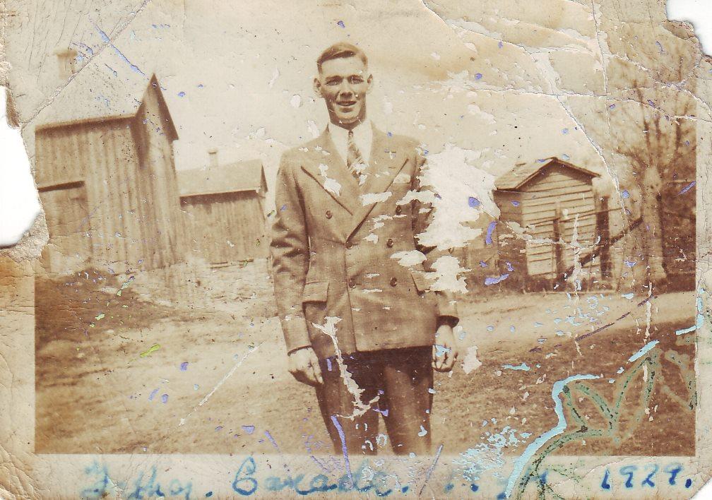 Robert Cooke in Canada 1929