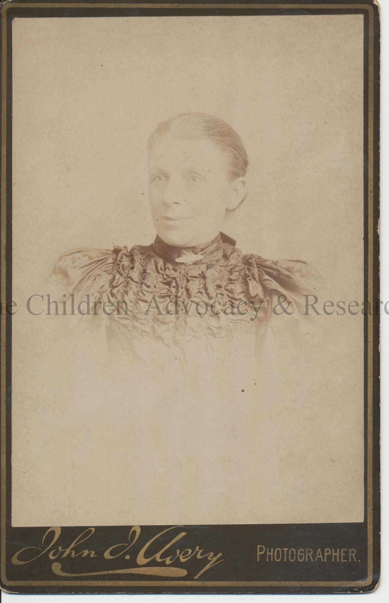 Winnifred's mother Elizabeth