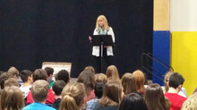 School Presentation Success!! 70 students learn about the British Home Children, Jan 2015