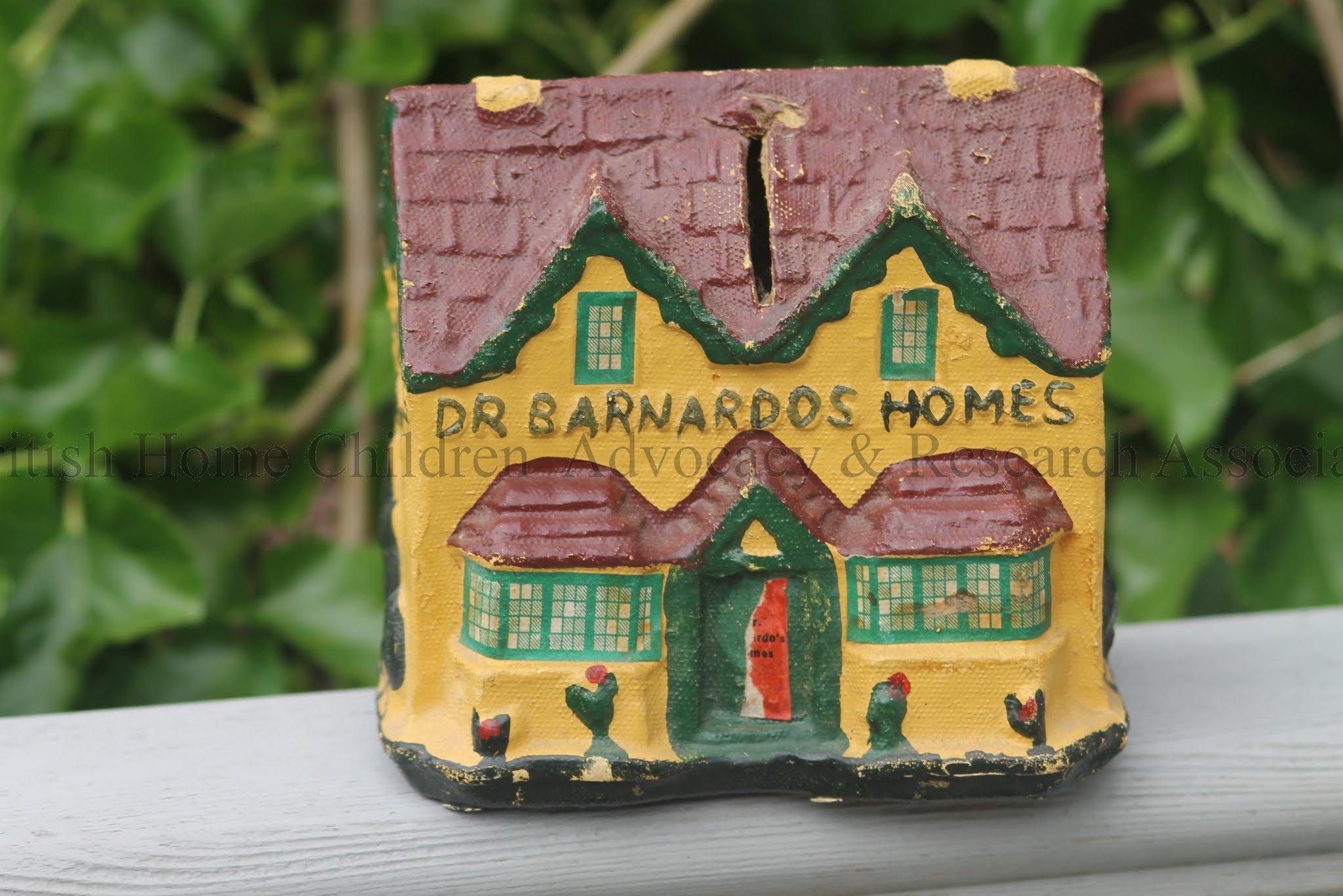 c1895 Barnardo Home Penny box