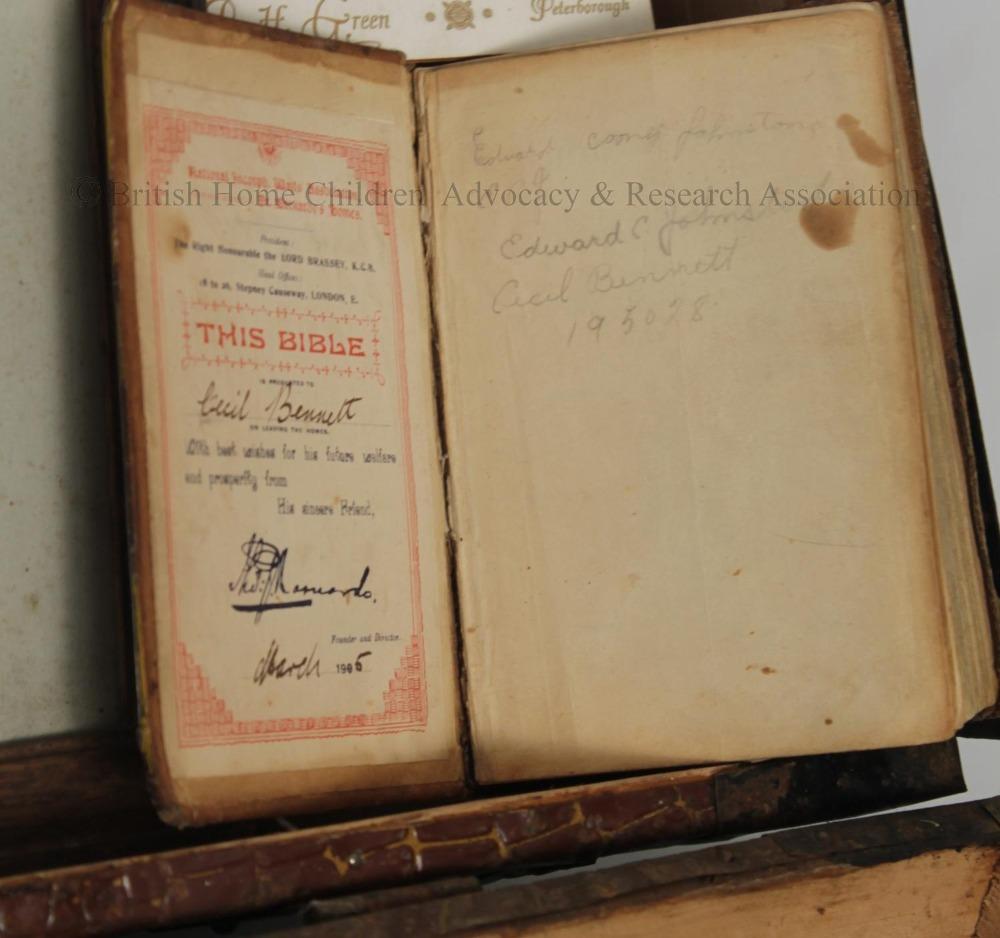Cecil Bennett Bible