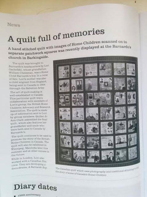 A quilt full of Memories