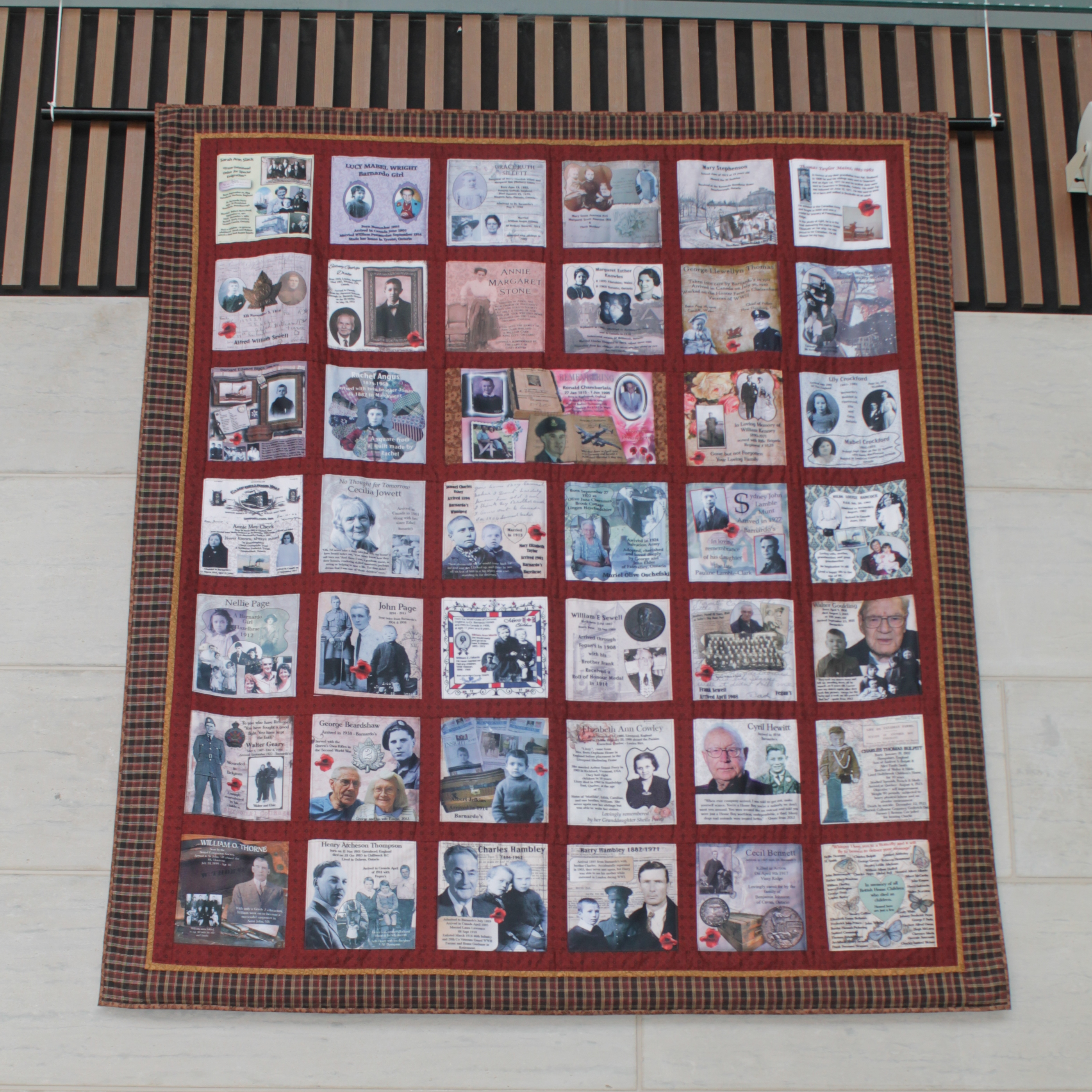 Quilt and BHC exhibit