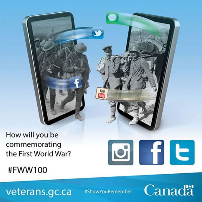 How Will You Commemorate WW1?