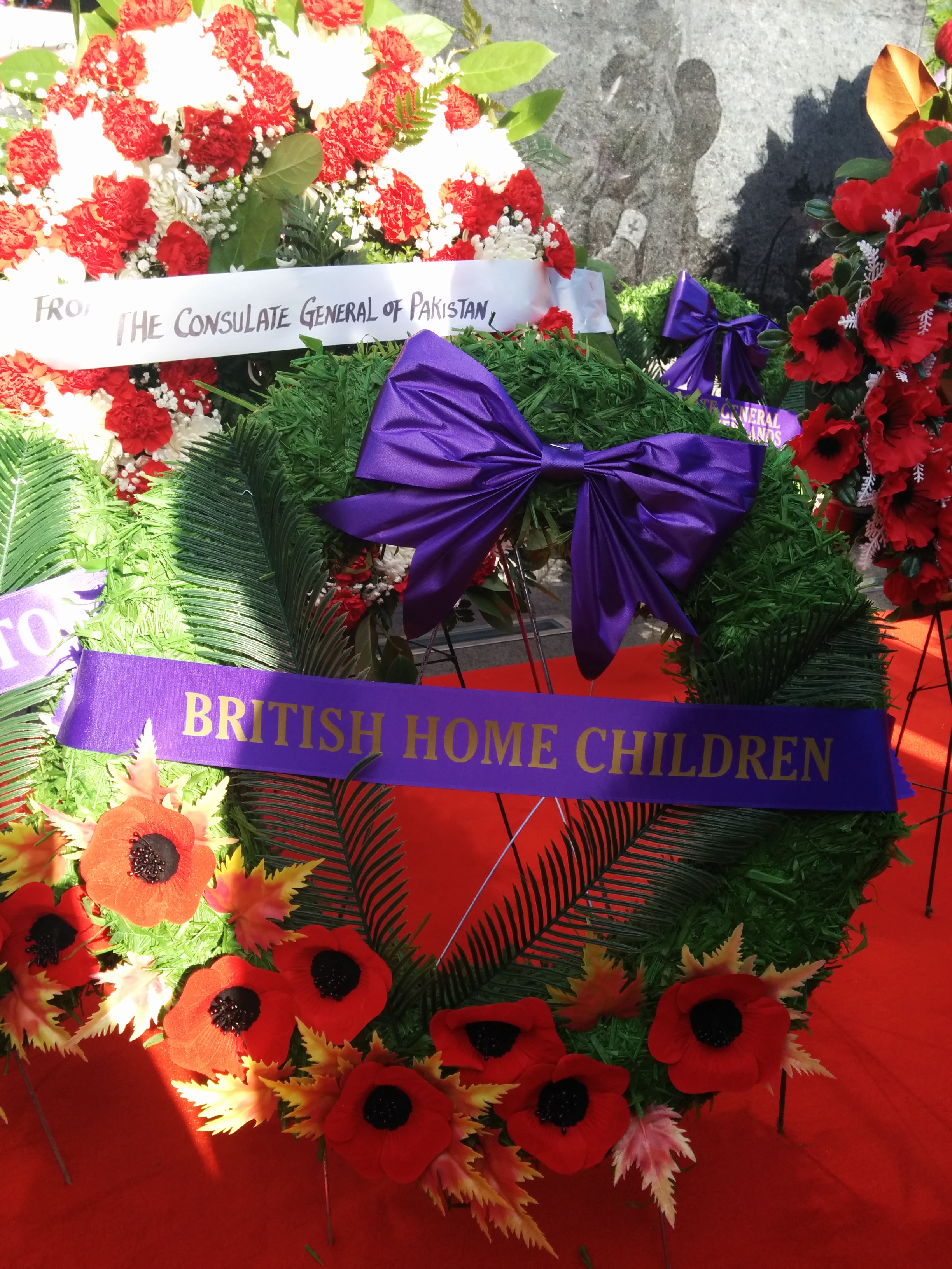 Remembrance wreath for our soldiers