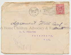 Indenture agreement envelope