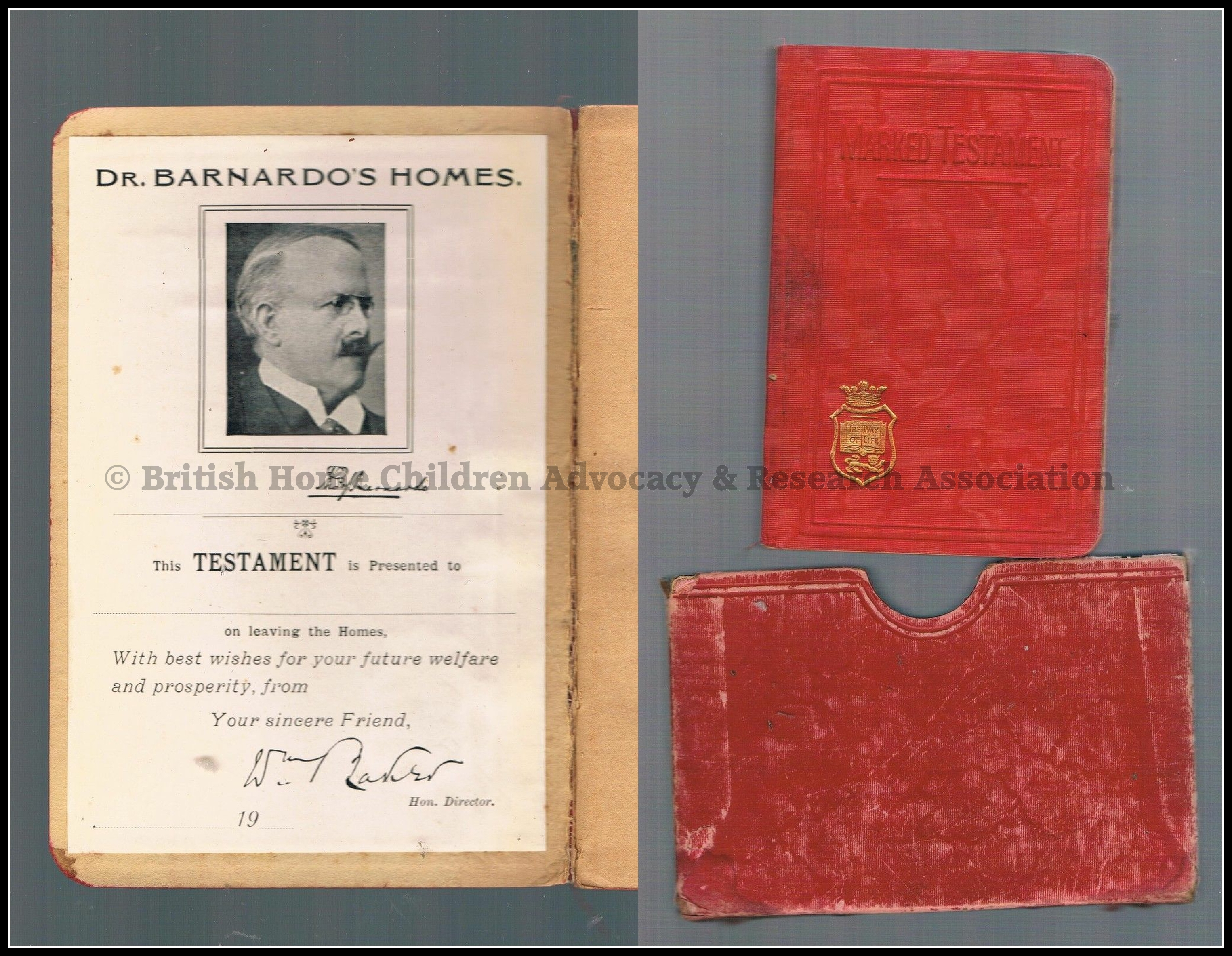 Barnardo New Testament post 1905