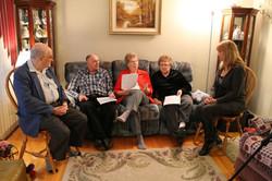 Home Visits with Descendants