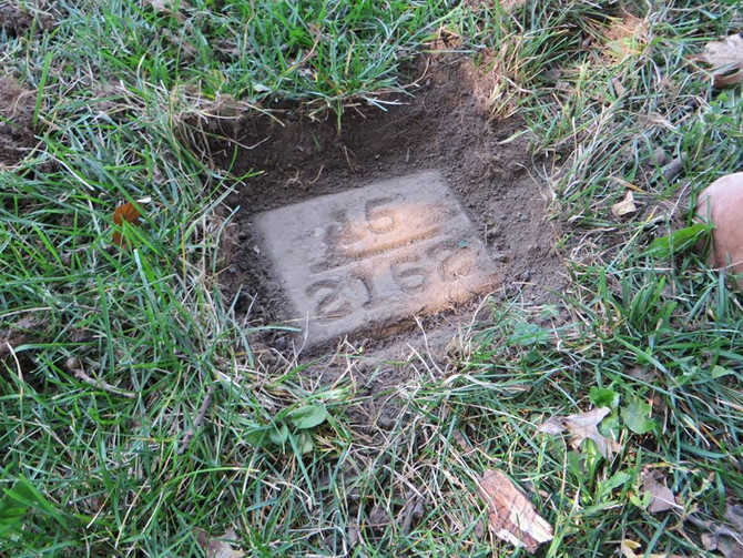 Moments That Count. BHCARA members find long forgotten grave of BHC Dorothy Ray