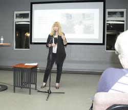 Speaking in Hamilton, Ontario 2014