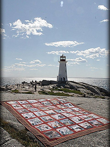 Our Quilt in Peggy's Cove 2016