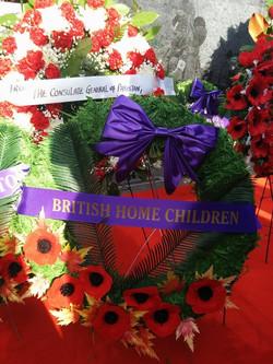 First BHC Wreath Queens Park 2014