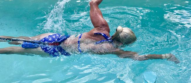 Bungee Cord Swim Workout