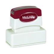Maxlight Pre-Inked Stamp XL2-245