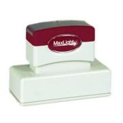 Maxlight Pre-Inked Stamp XL2-115