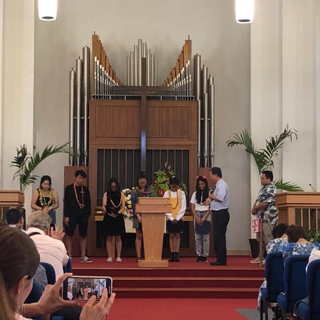 2019 교육부 졸업 예배
