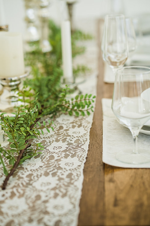 Here comes the bride...   Table Runner