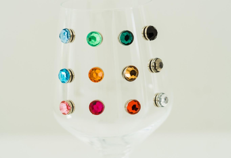Gem it up! Wine Glass Charms
