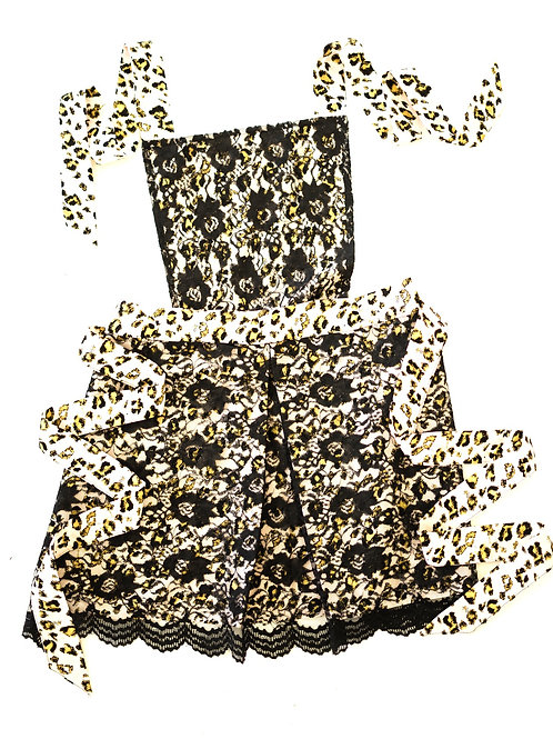 Who said a leopard can't be PINK! Convertible Apron