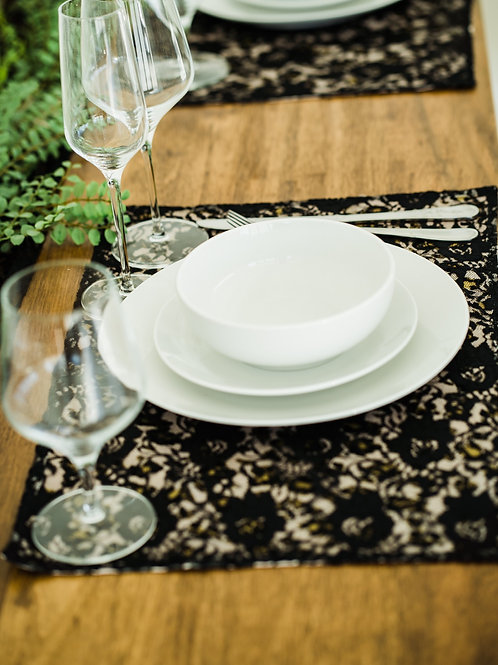 Who said a leopard can't be PINK!  Placemats, Set of 2