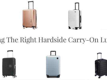 Finding the Right Hardside Carry-On Luggage