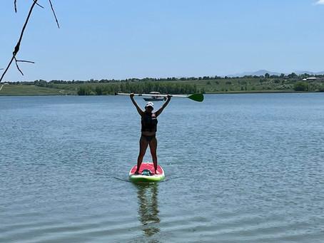 Paddle Boarding In Colorado