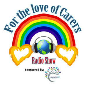 For the Love of Carers Logo with backgro