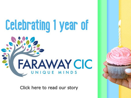 Celebrating 1 Year of Empowering Unique Minds