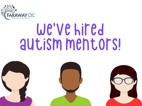 CIC Hires the First Autism Mentors in North East Lincolnshire