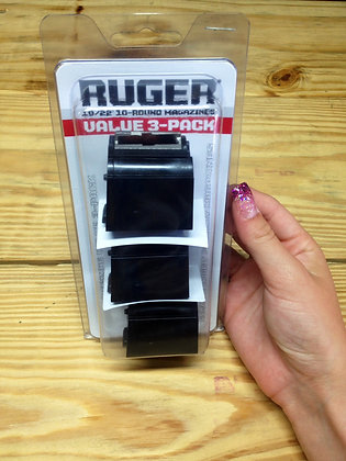 RUGER 10/22 10-Round Magazines Value 3-pack